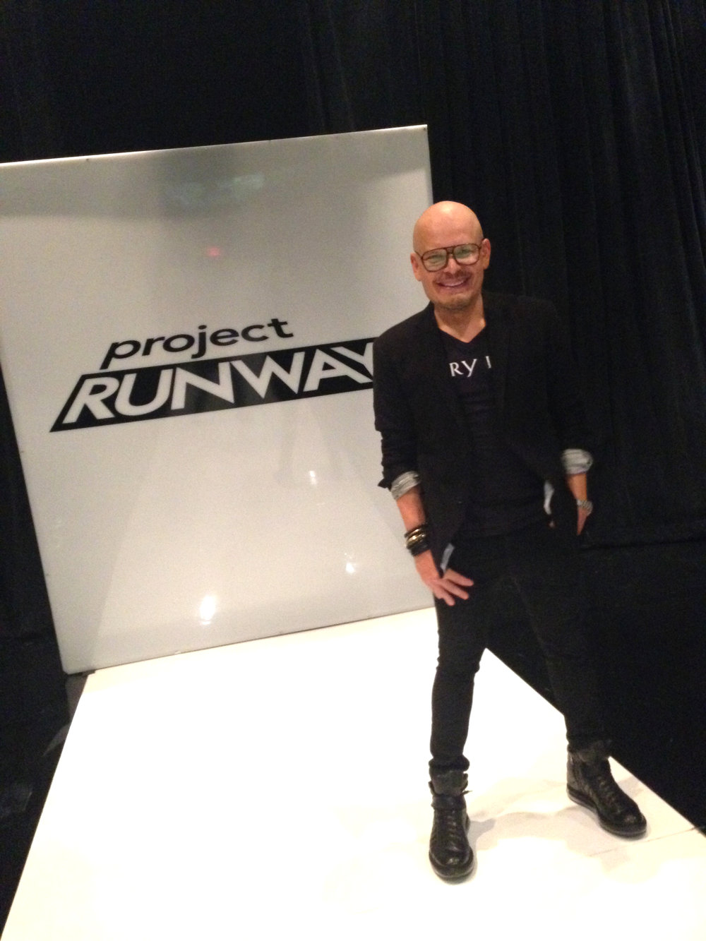 Luis Casco Lead Makeup Artist Project Runway