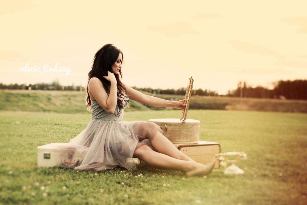 female model fashion photo shoot by Seattle photographer