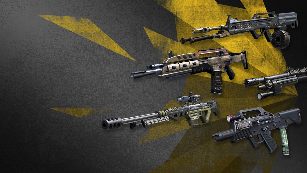 """Weapons"" Call of Duty ELITE Web Banner Series"
