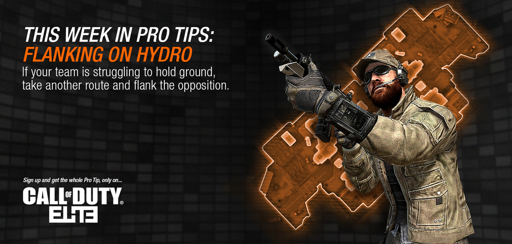 """Pro Tips: Hydro"" Call of Duty ELITE Web Banner Series"