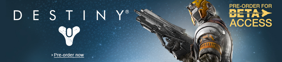 Destiny Pre-Order Banner Series for Amazon