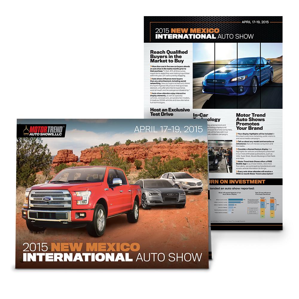 2015 New Mexico International Auto Show Brochure