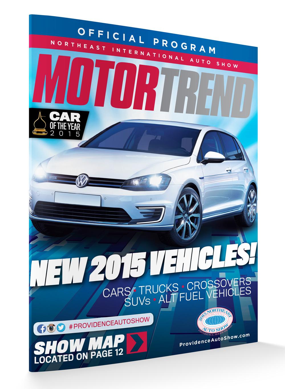 2015 Northeast International Auto Show Program Book Cover