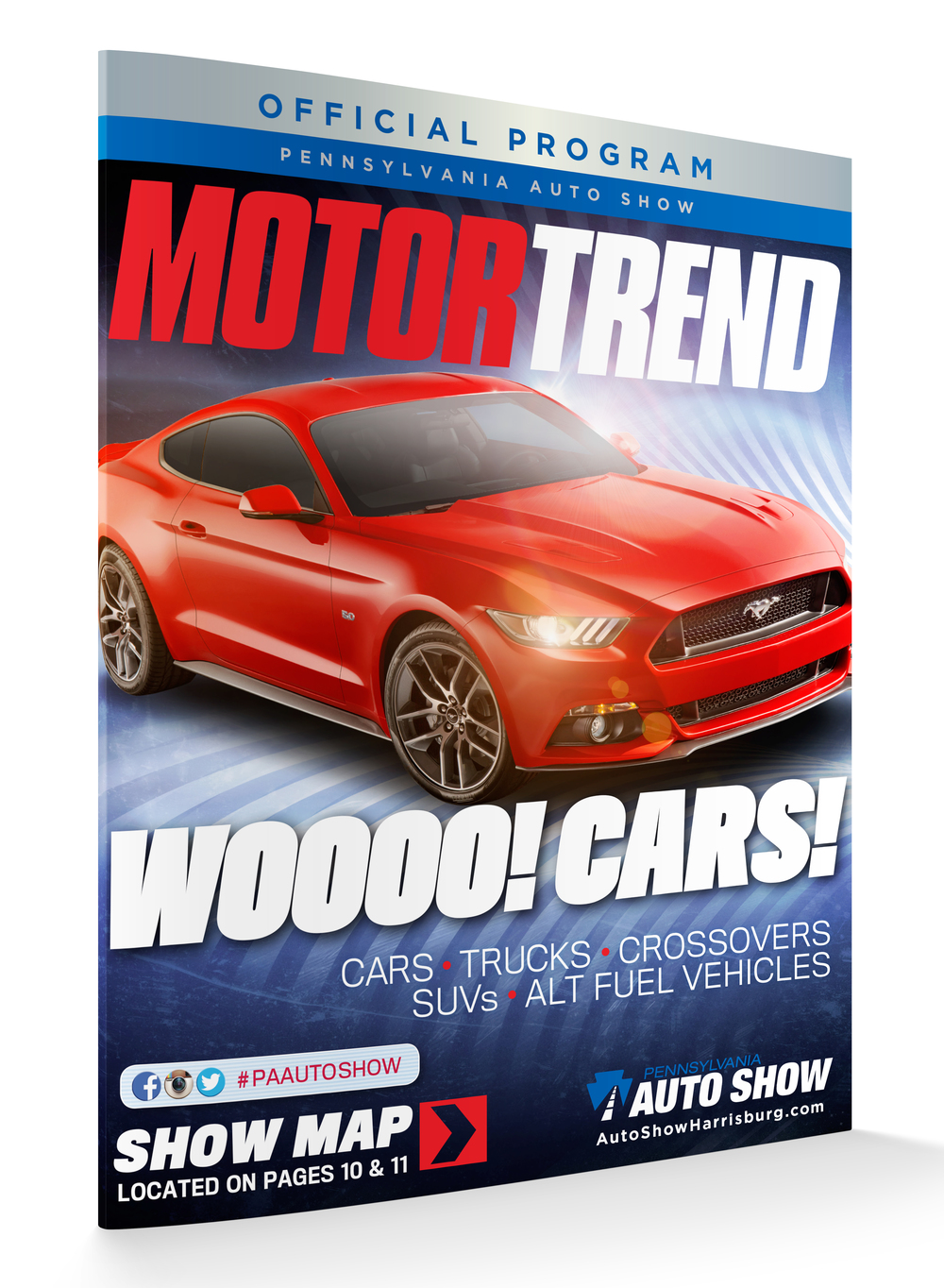 2015 Pennsylvania Auto Show Program Book Cover