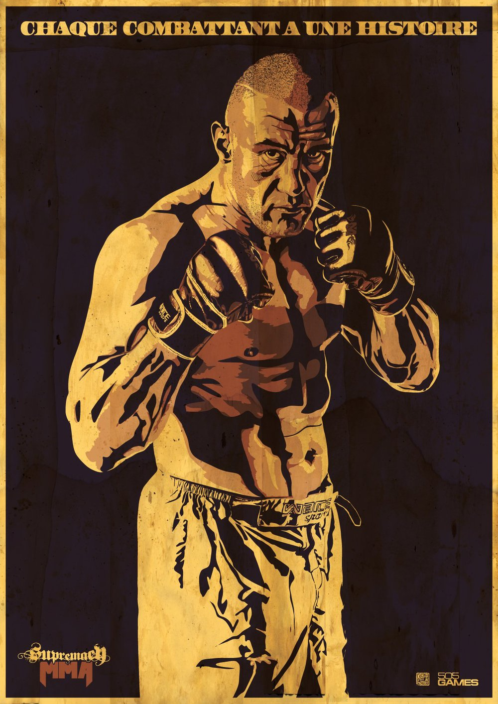 Supremacy MMA - Jerome Poster