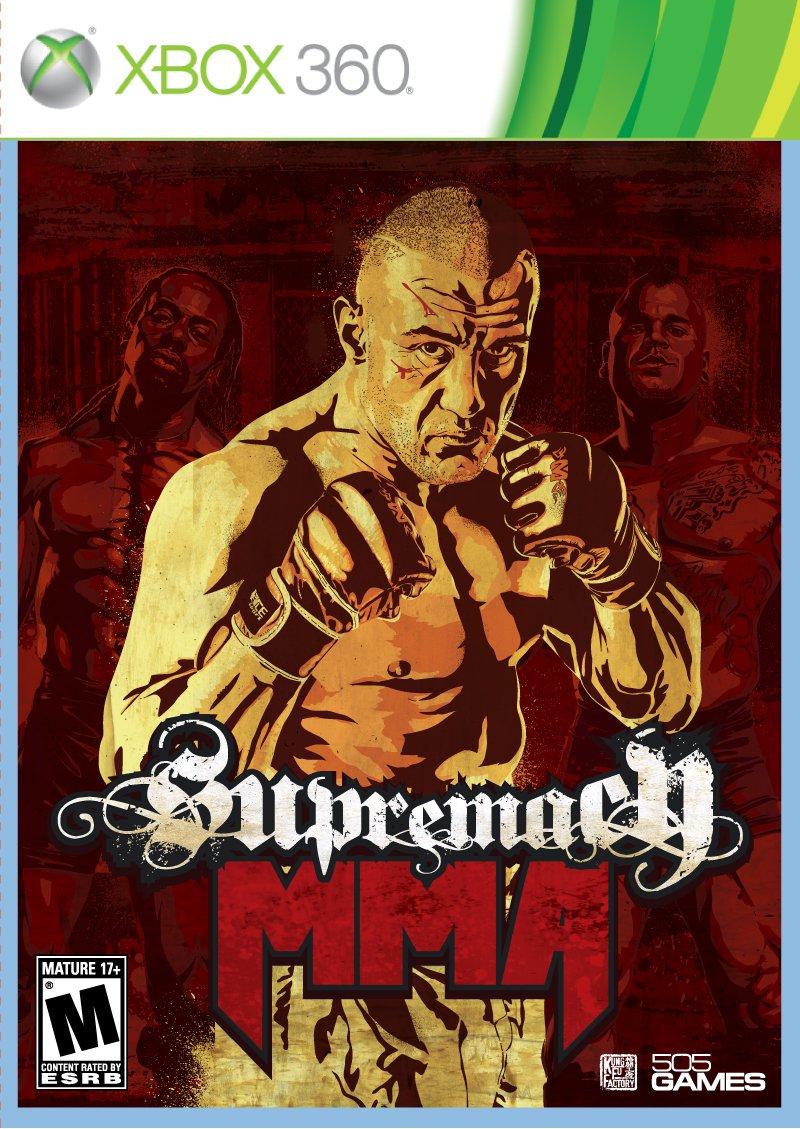Supremacy MMA European Front of Box