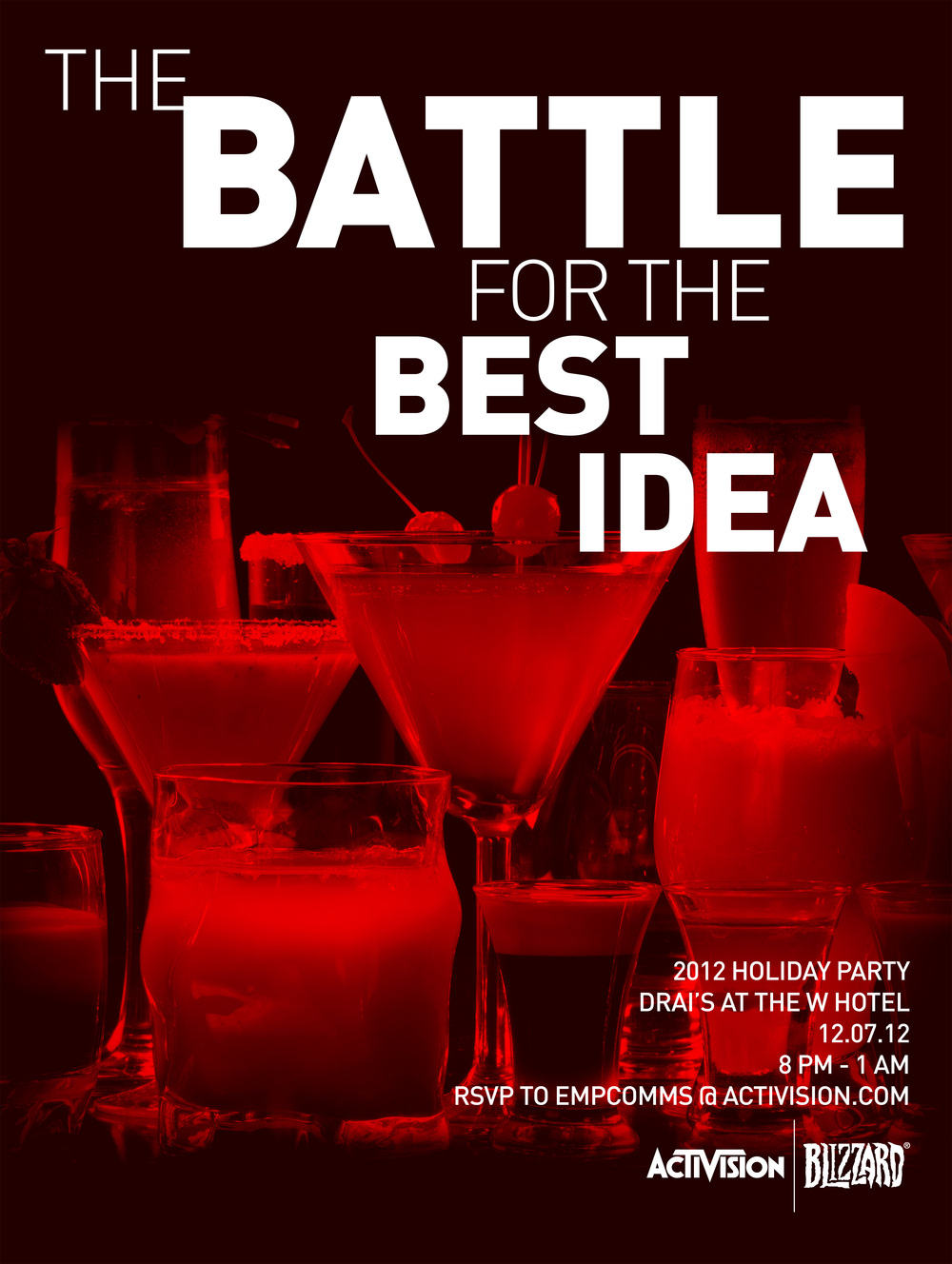 """""""The Battle for the Best Idea"""" Activision 