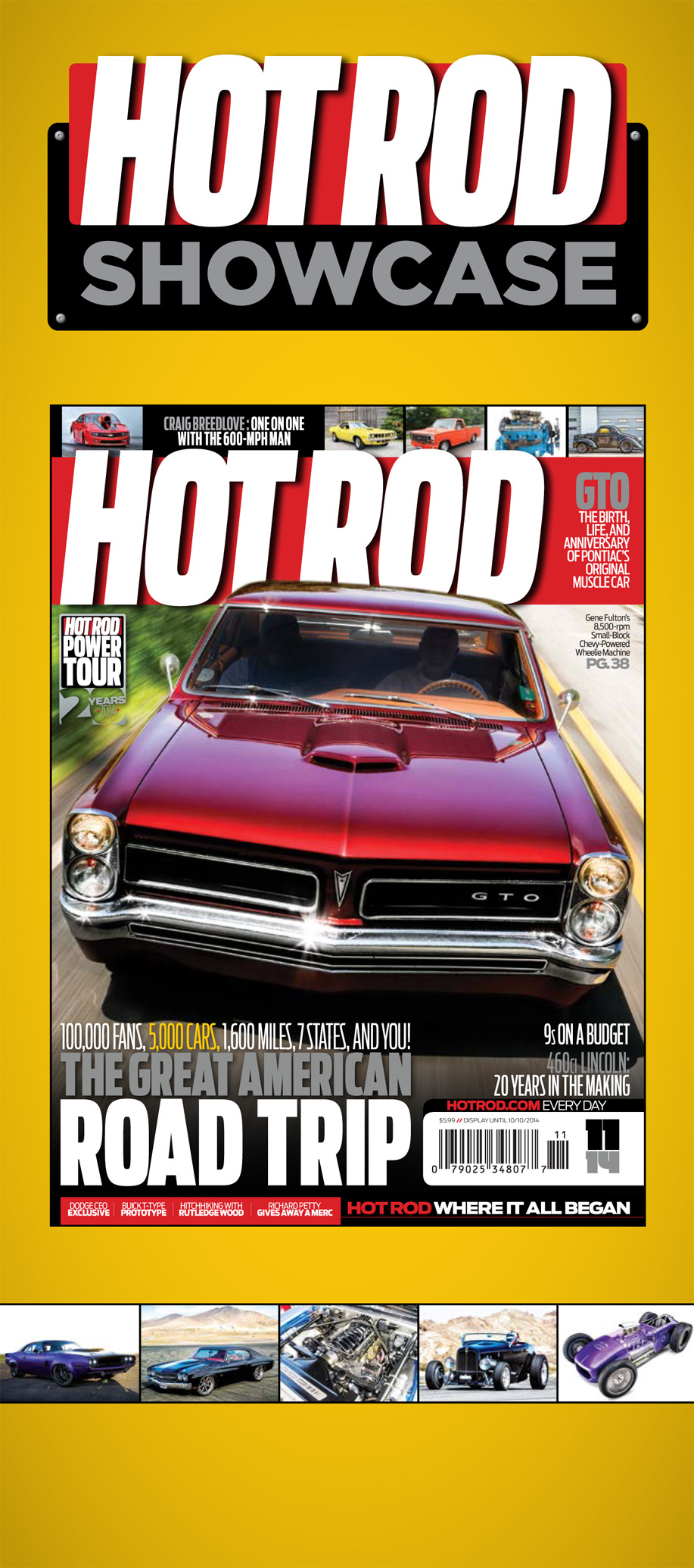 Hot Rod Showcase Meterboard