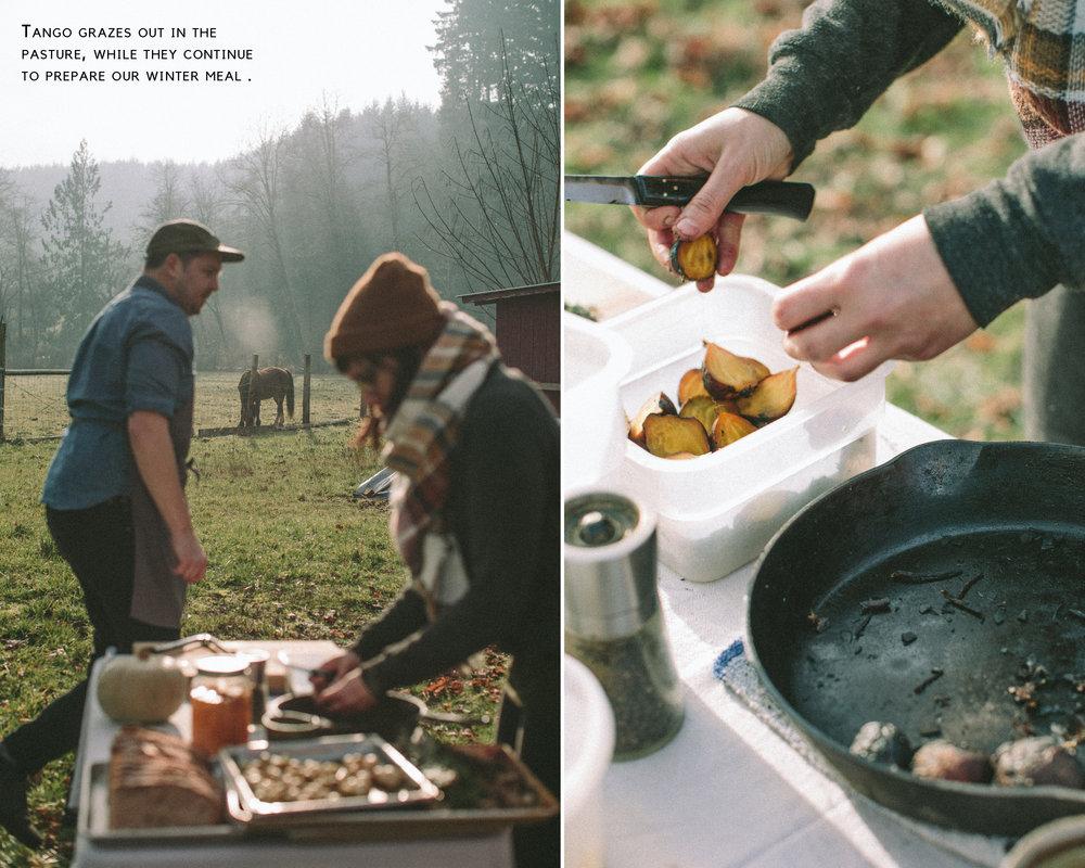 Winter Workshop + Farm Meal - The Eternal Child