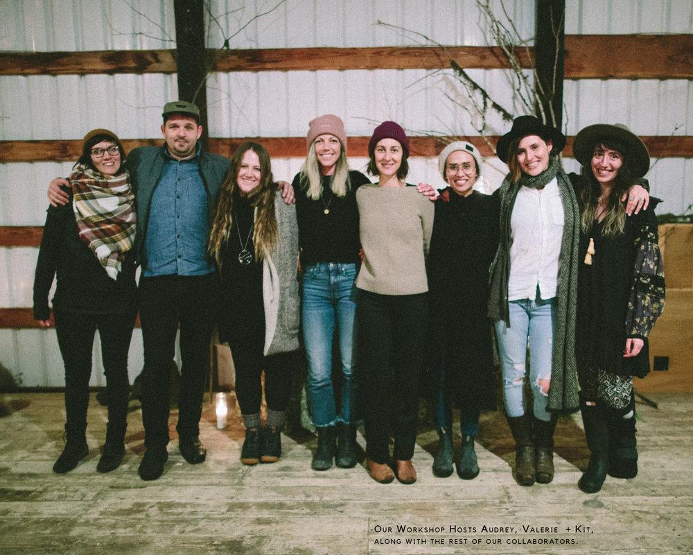 Winter Seasonal Living Workshop + Farm Meal - The Eternal Child