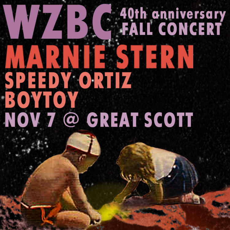 WZBC Fall 2013 Concert Sticker 1