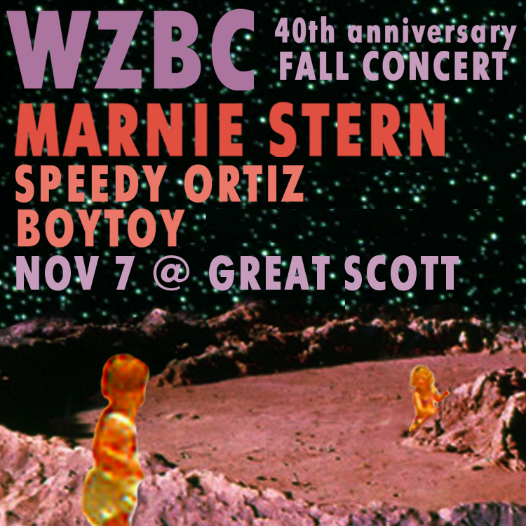 WZBC Fall 2013 Concert Sticker 2