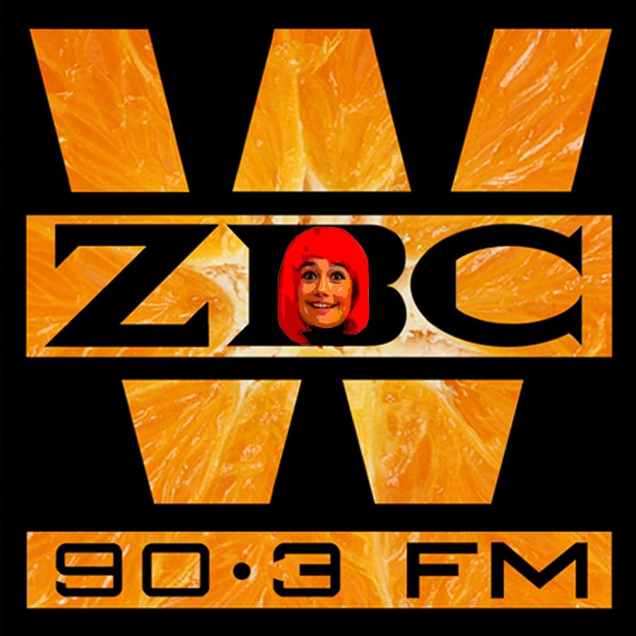 WZBC DJ Erika Sticker 2
