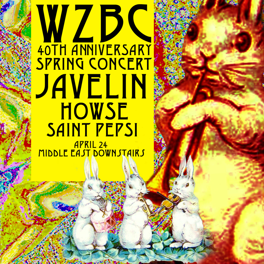WZBC Spring 2013 Concert Poster 2