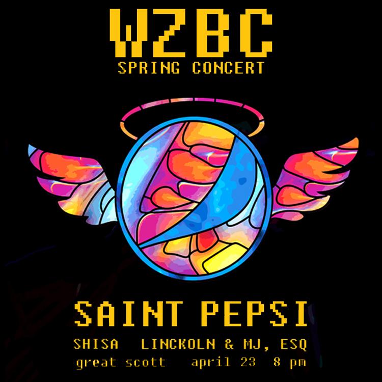 WZBC Spring Concert 2014 Sticker