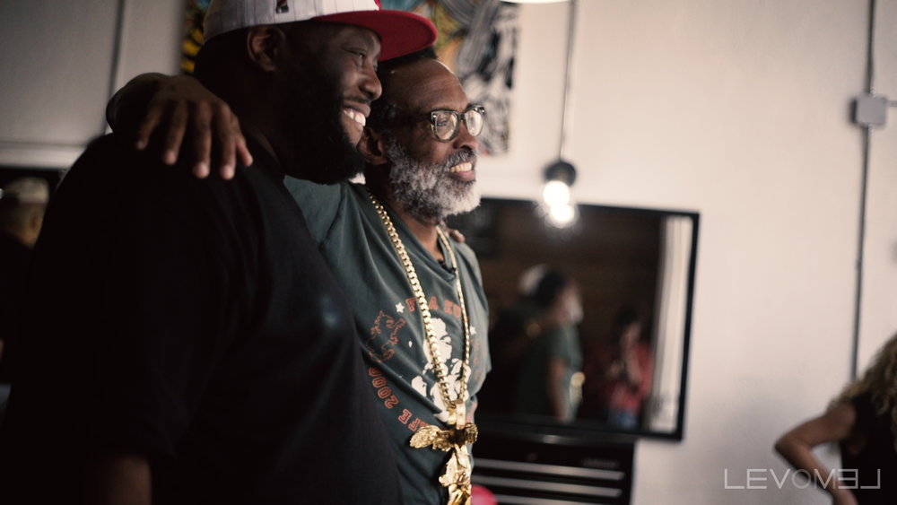 Living Walls - Chip Thomas and Killer Mike