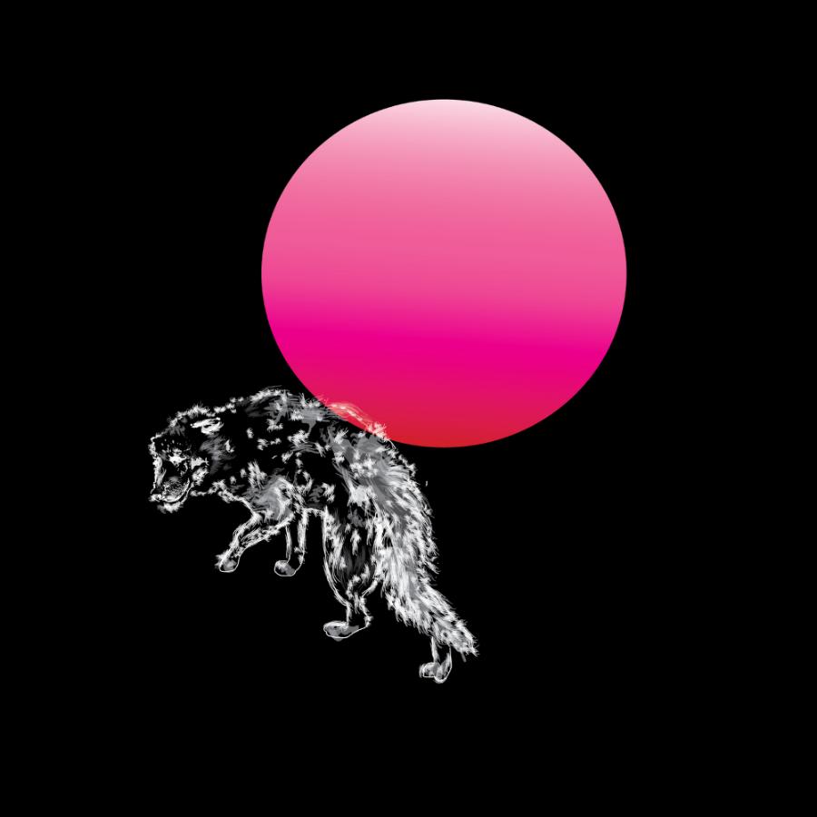 Moon sipper, 12 x 12 digital c-print on matte, 2014.