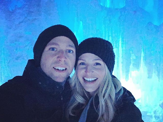 Ice Castles in jeans  #thatsmyfiance