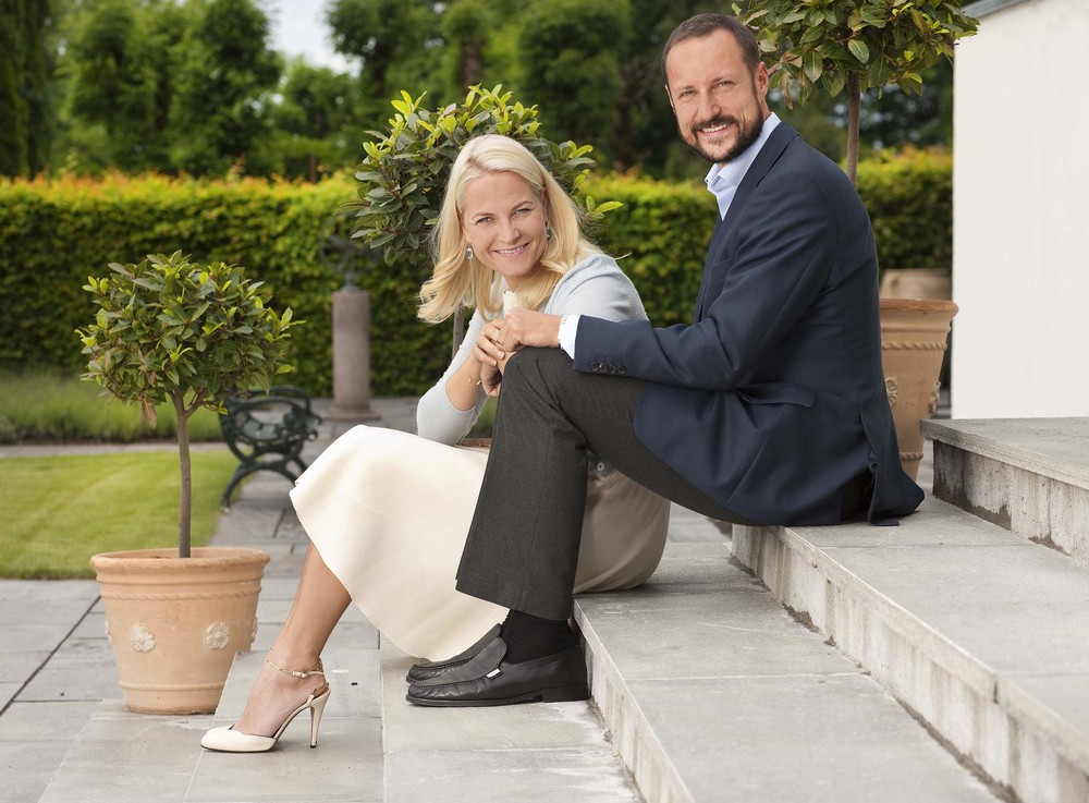 Kronprinsesse Mette-Marit og Kronprins Haakon