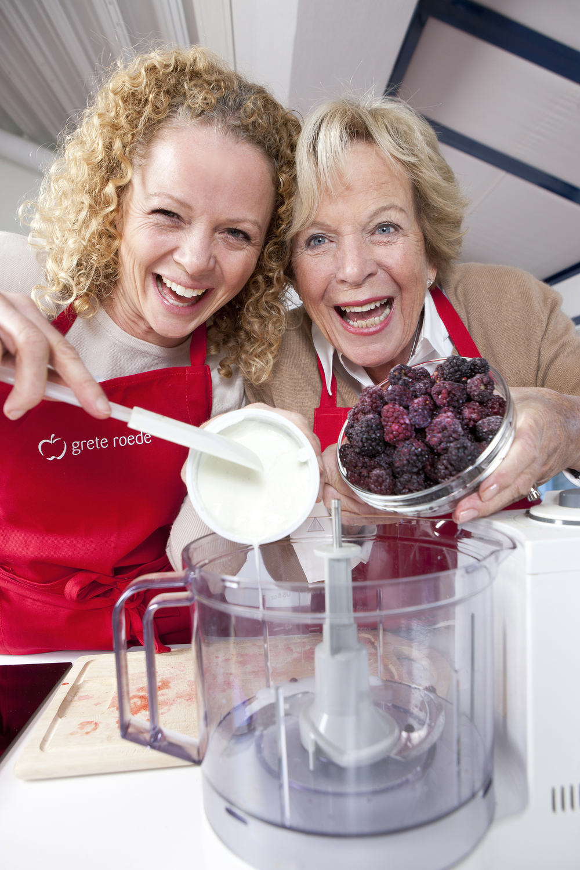 Grete og Jeanette Roede