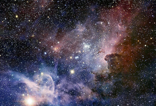 Figure 1 Carina Nebula, part of our Milky Way