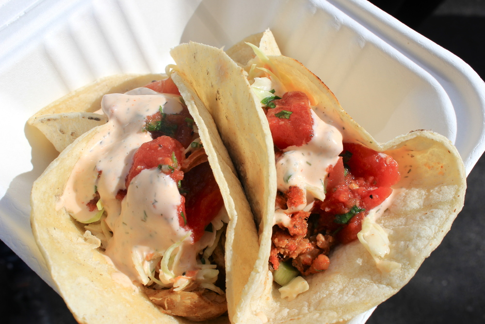 mmm lobster tacos