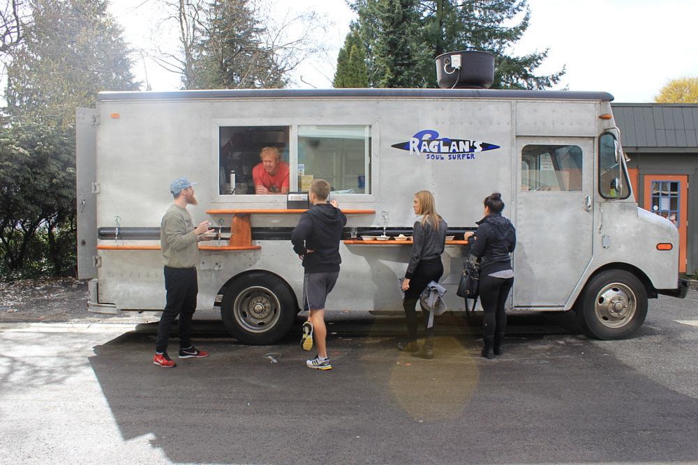 Raglans food truck!