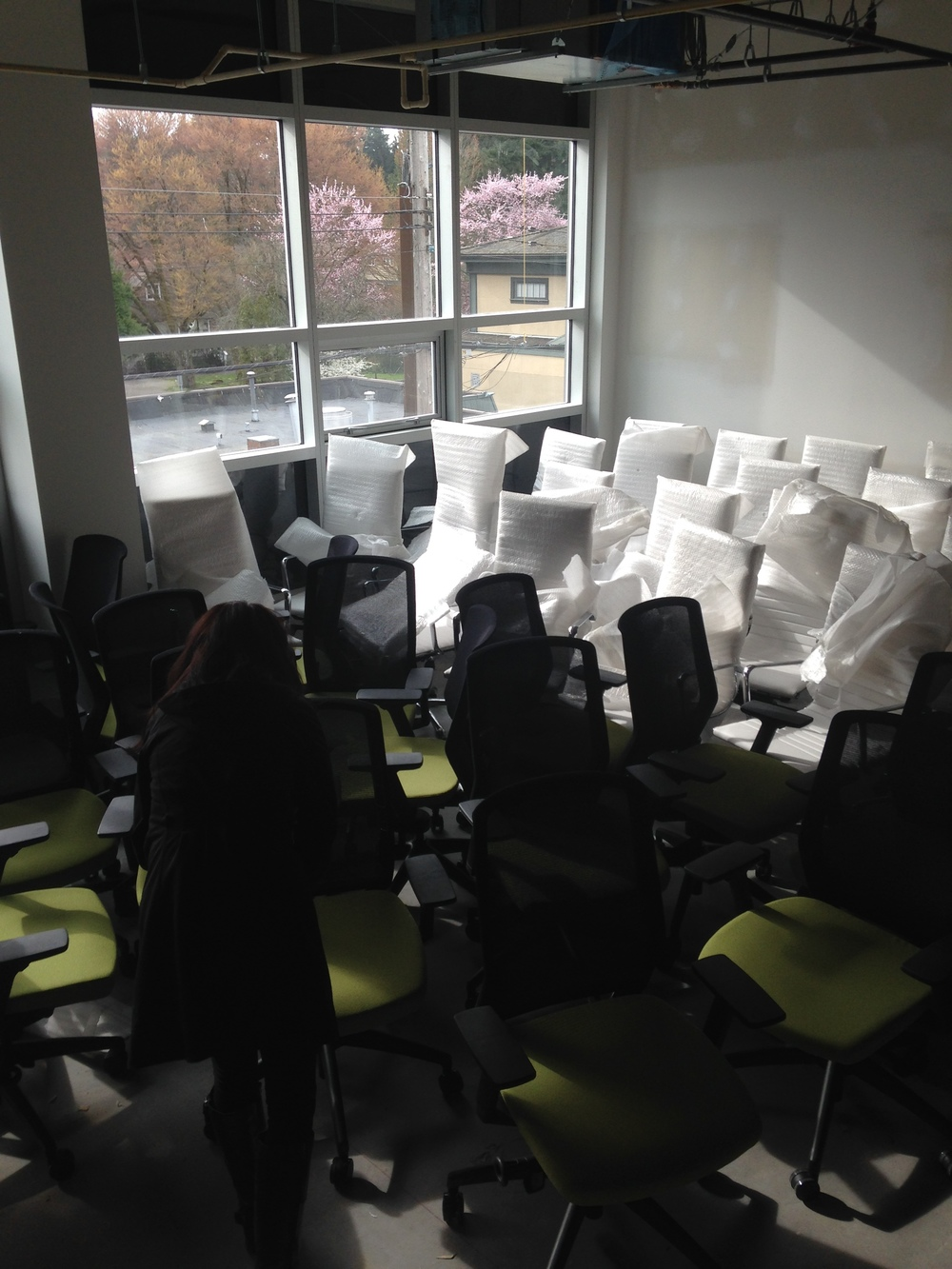 Just a few new chairs