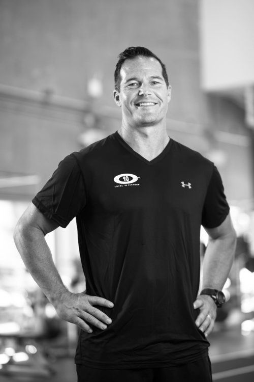 ANTHONY FINDLAY , OWNER AND PRESIDENT OF  LEVEL 10 FITNESS INC.