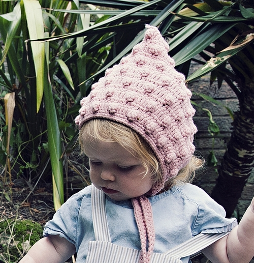 Baby   Child Pink Pixie Hat — viv   joe 3957e483fc0