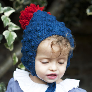 Baby   Child Ink Blue Pixie Hat db0fa7f062ba