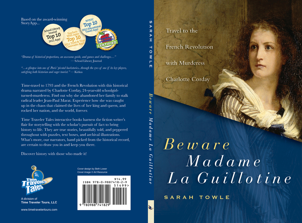 Informative and riveting tale of the French Revolution written in an easy way for all to understand. It would make a perfect companion to an educator wanting to find a straight forward way to explain the events leading up to the Revolution, what happened during it and then after. I highly recommend this book or the mobile app by Time Traveler Tours and Sarah Towle. Gail Boisclair, Perfectly Paris