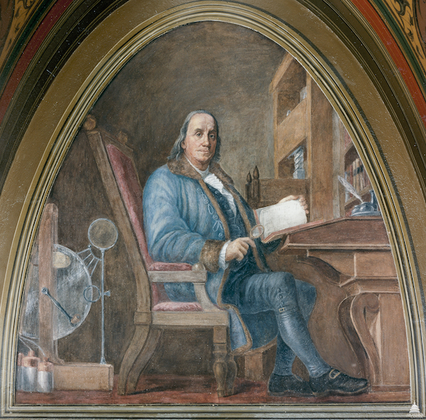 By USCapitol - Benjamin Franklin, Public Domain, https://commons.wikimedia.org/w/index.php?curid=21977312