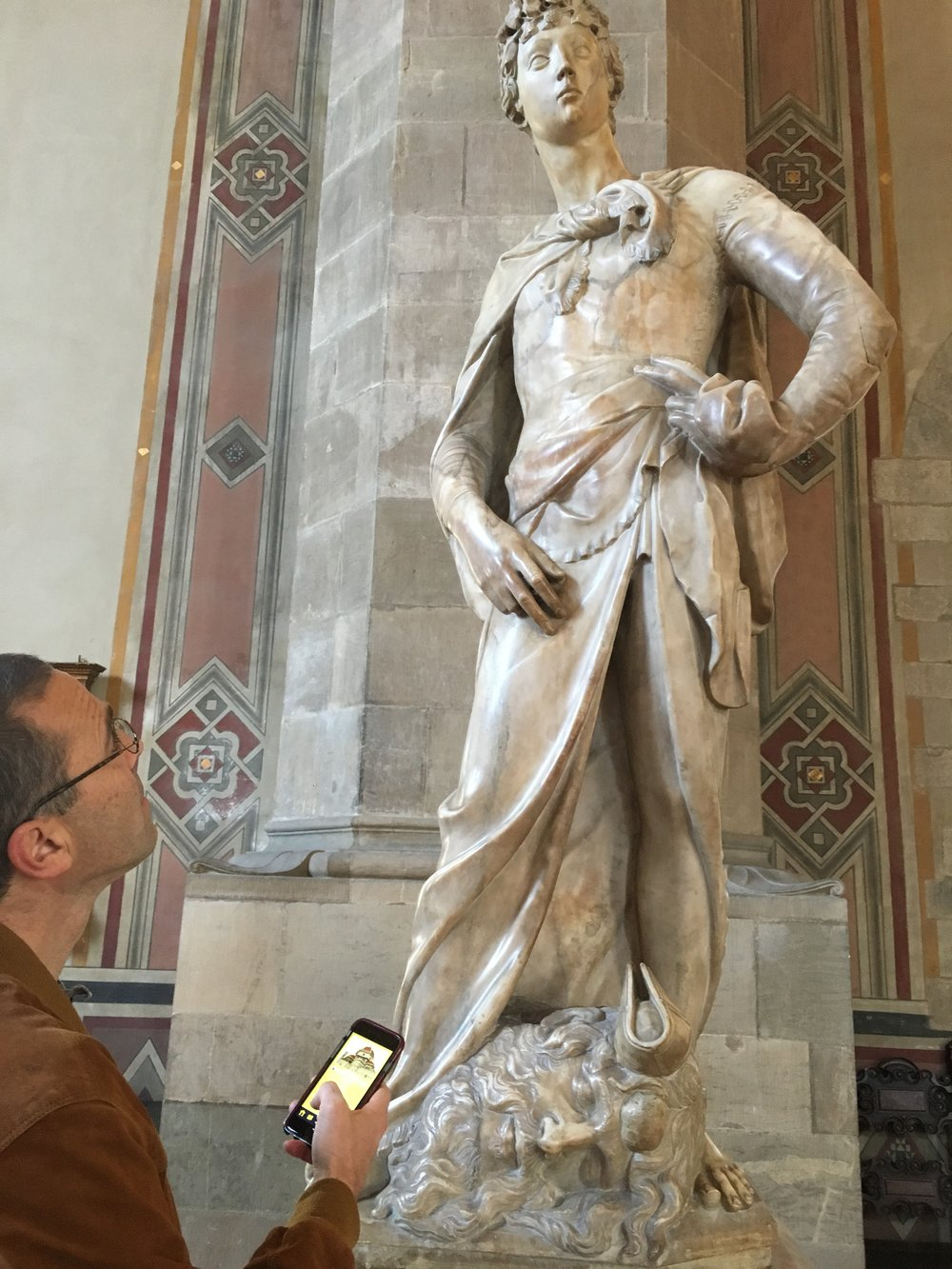 Donatello's Marble David