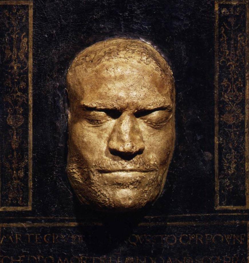 Lorenzo de' Medici, Death Mask