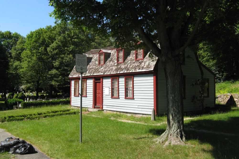 Abigail Adam's birthplace and home in Weymouth, MA