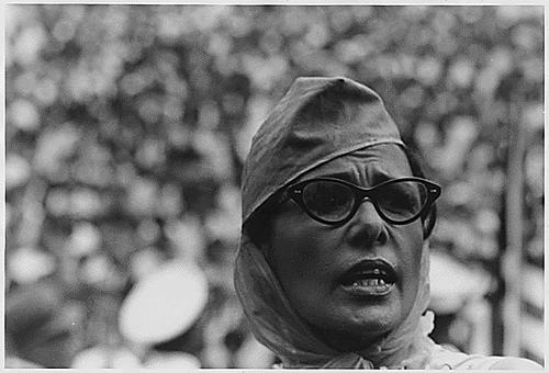 Lena Horne at the 1963 March on Washington