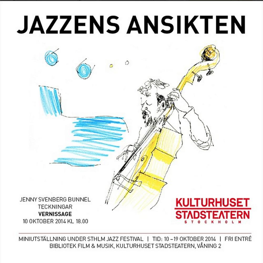 Vernissage Kulturhuset - Jazzens ansikten