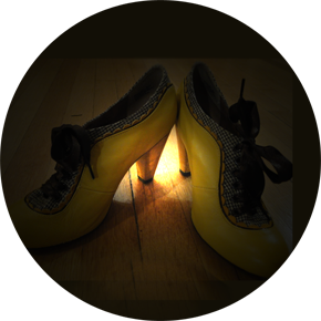 Ms Mustard's dancing shoes!