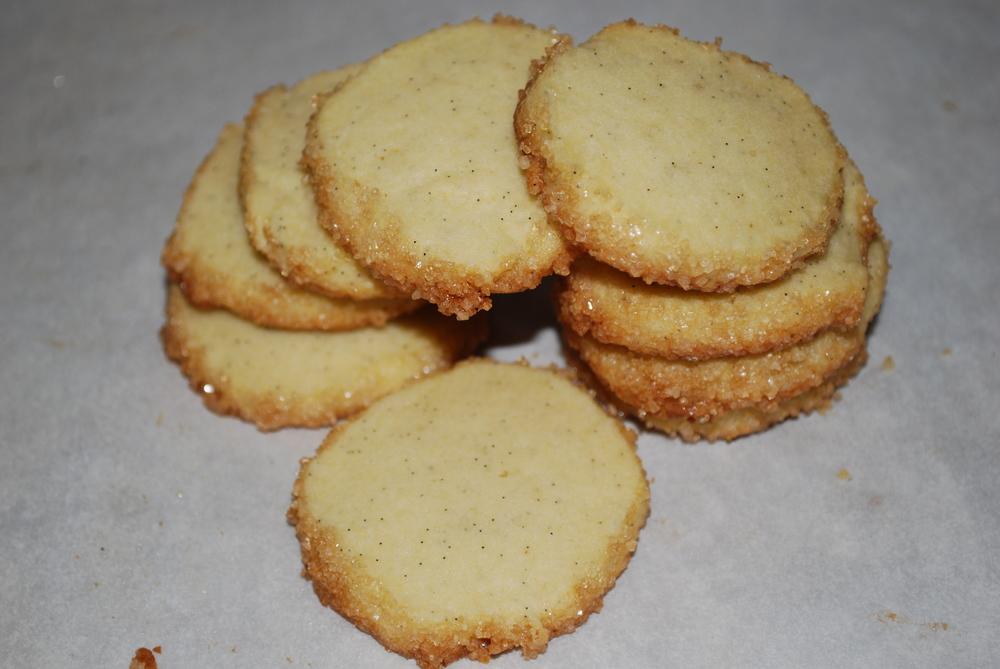 Vanilla bean sable cookie recipe