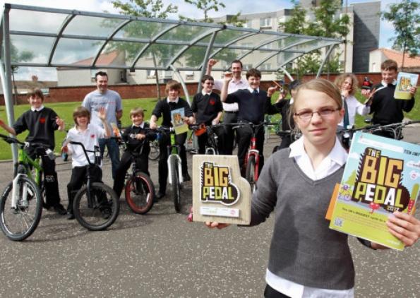 Dunbar Grammar School - photo courtesy of East Lothian News