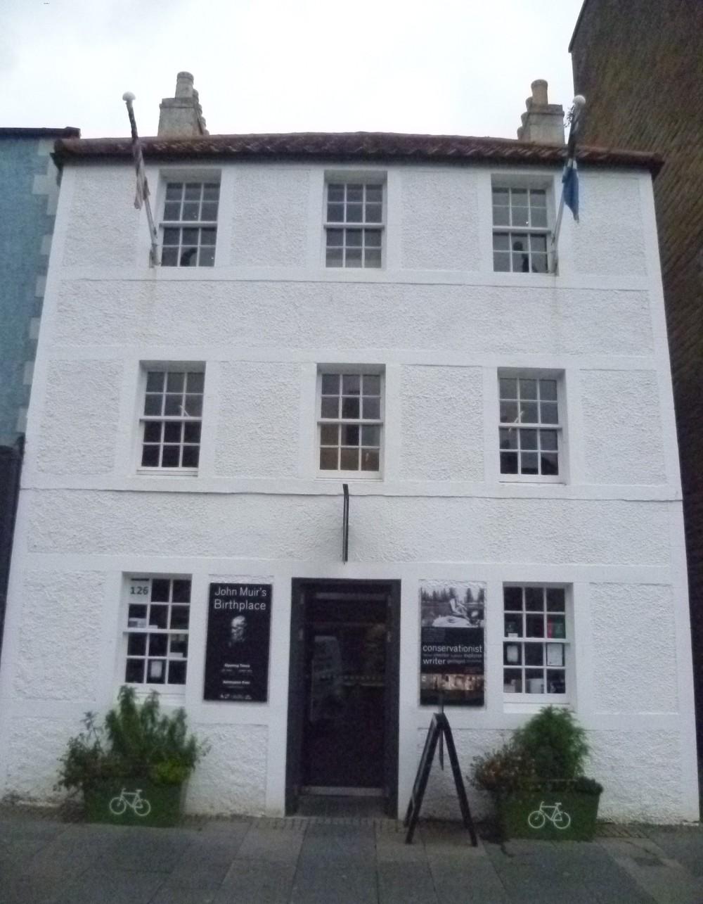 John Muirs Birthplace Dunbar