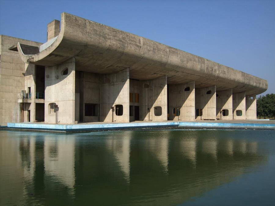 Palais de l'Assemblée, Chandigarh, India, 1955