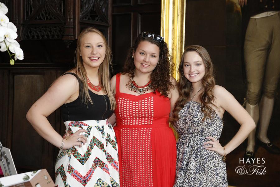 Kathleen, Alex and Collen