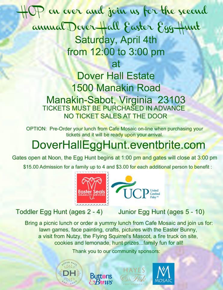 Easter Egg Hunt at Dover Hall