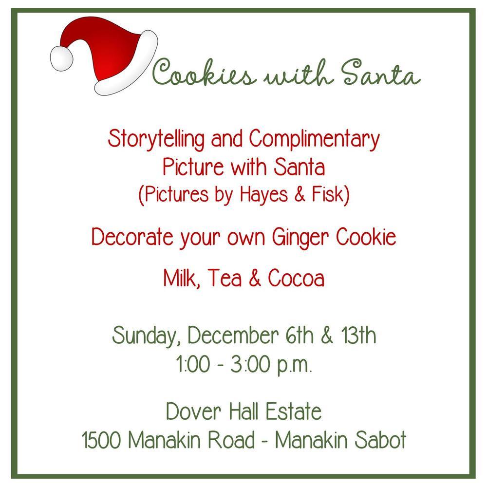 Santa Event at Dover Hall, Richmond, VA