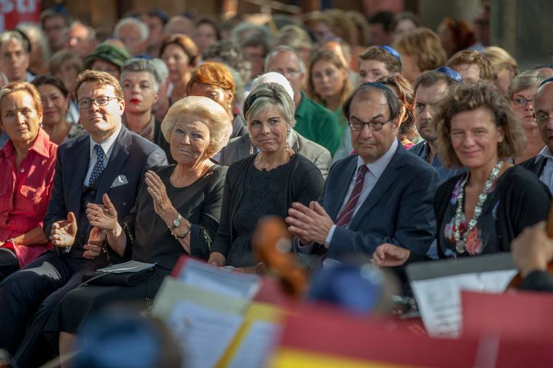 Royal Family attending Yoel Gamzou concert_August 2013.jpg