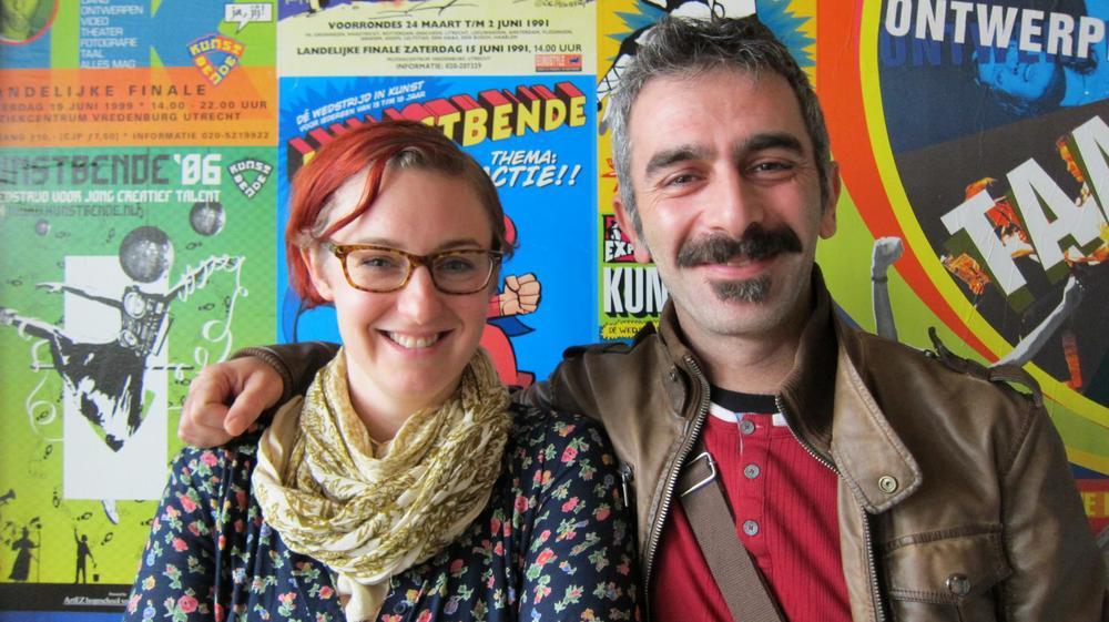 Jenneken Aarssen (NL) and Yusuf Orkun Yagci (TR) Tandem-EU-Turkey programme 2011-12