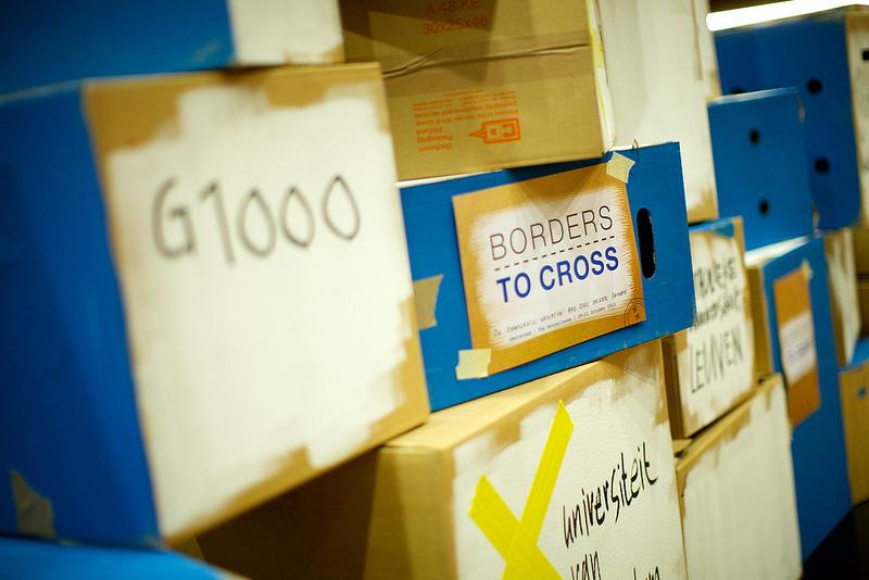 Borders to Cross conference. ©Sebastiaan ter Burg