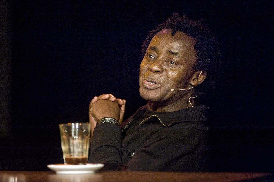 John Akomfrah at the Imagining Europe event in 2012. Photo ©Jan Boeve